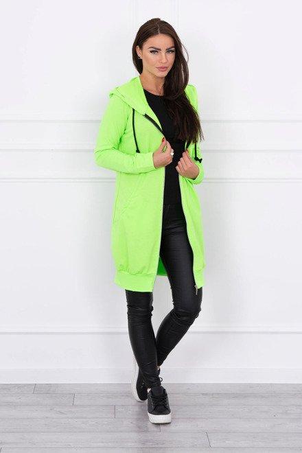 6e7ef4562330 Zelená neonová dámska mikina