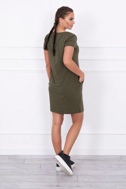 c6d8e1773b9f3 Kompletné špecifikácie · K stiahnutiu · Súvisiaci tovar (0). Teplákové šaty  Vogue s krátkym rukávom kaki