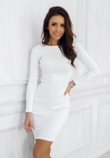 d0299f64d4e7 Šaty Kylie biele empty